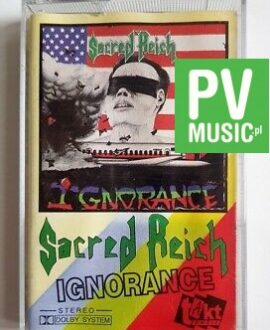 SACRED REICH IGNORANCE audio cassette