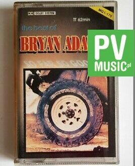 BRYAN ADAMS THE BEST OF audio cassette