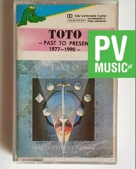 TOTO PAST TO PRESENT 1977-1990 audio cassette