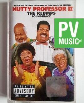 NUTTY PROFESSOR II THE KLUMPS SOUNDTRACK audio cassette