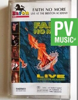 FAITH NO MORE LIVE AT THE BRIXTON ACADEMY audio cassette