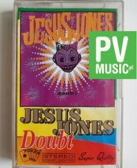 JESUS JONES DOUBT audio cassette