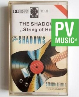 THE SHADOWS STRING OF HITS audio cassette