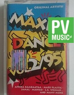 MAXI DANCE  95  audio cassette