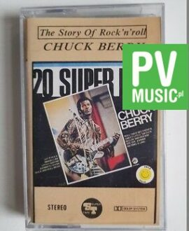 CHUCK BERRY 20 SUPER HITS audio cassette