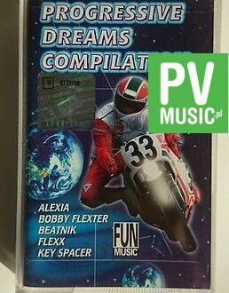 PROGRESSIVE DREAMS COMPILATION FUN MUSIC    audio cassette