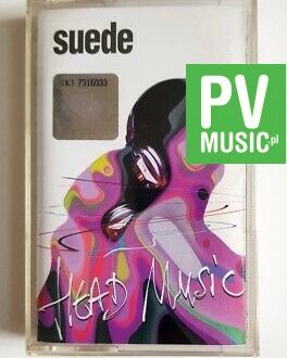 SUEDE HEAD MUSIC  audio cassette