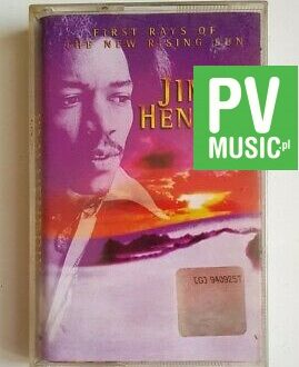 JIMI HENDRIX FIRST RAYS OF THE NEW RISING SUN audio cassette