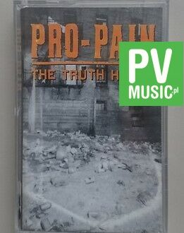 PRO - PAIN  THE TRUTH HURTS   audio cassette