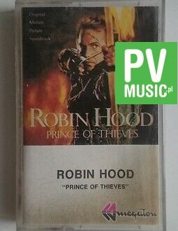 ROBIN HOOD PRINCE OF THIEVES   audio cassette