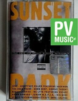 SUNSET PARK SOUNDTRACK - 2PACK.. audio cassette