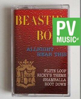 BEASTIE BOYS ALRIGHT HEAR THIS audio cassette