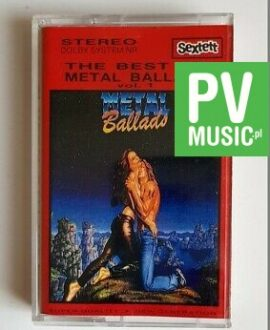 METAL BALLADS THE BEST OF audio cassette