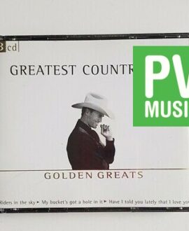 GOLDEN GREATS GREATEST COUNTRY HITS 3xCD