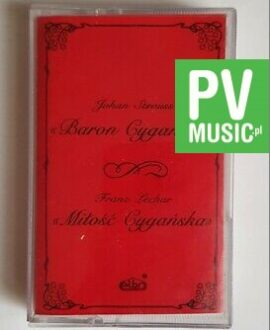 JOHAN STRAUSS BARON CYGAŃSKI audio cassette