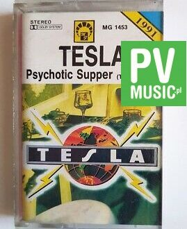 TESLA PSYCHOTIC SUPPER audio cassette