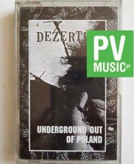 DEZERTER UNDERGROUND OUT OF POLAND audio cassette