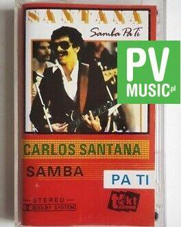 CARLOS SANTANA SAMBA PA TI audio cassette