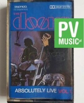 THE DOORS ABSOLUTELY LIVE vol.1 audio cassette