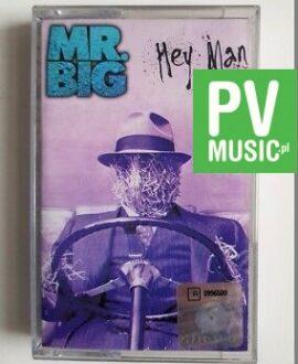 MR.BIG HEY MAN audio cassette