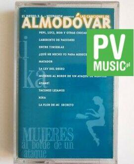 LAS CANCIONES DE ALMODOVAR audio cassette
