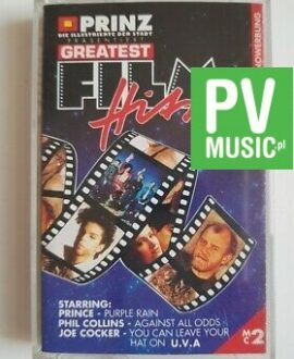 GREATEST FILM HITS PRINCE, PHIL COLLINS.. audio cassette