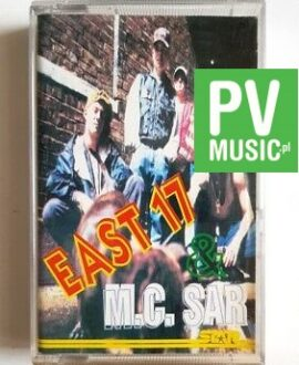 M.C. SAR & REAL McCOY EAST 17 audio cassette