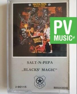 SALT'N PEPA BLACKS' MAGIC audio cassette