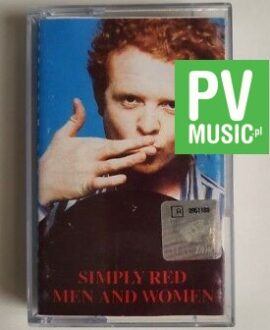 SIMPLY RED MEN AND WOMEN audio cassette