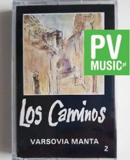 VARSOVIA MANTA LOS CAMINOS audio cassette