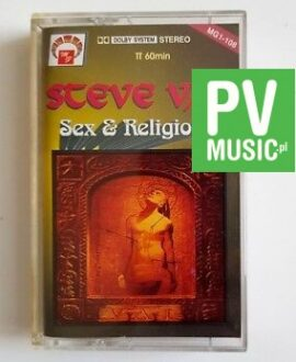 STEVE VAI SEX & RELIGION audio cassette