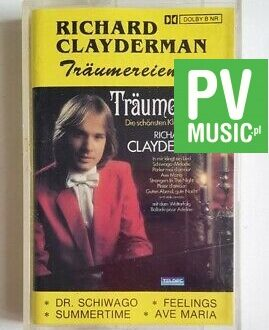RICHARD CLAYDERMAN TRAUMEREIEN 2 audio cassette