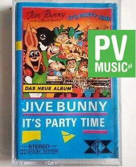 JIVE BUNNY IT'S PARTY TIME audio cassette