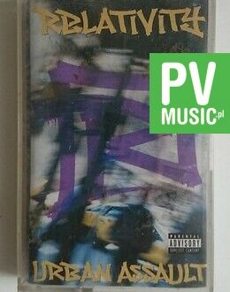 URBAN ASSAULT RELATIVITY    audio cassette