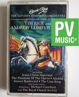 TIM RICE AND A.L. WEBBER LONDON S. JESUS CHRIST SUPERSTAR.. audio cassette