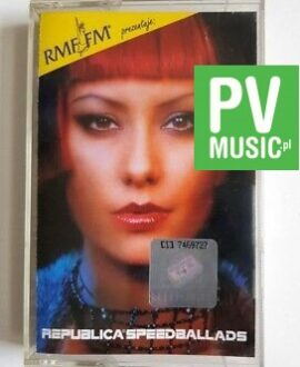 REPUBLICA SPEED BALLADS audio cassette