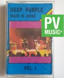 DEEP PURPLE MADE IN JAPAN vol.1 audio cassette