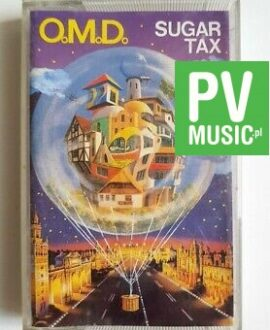 OMD SUGAR TAX audio cassette
