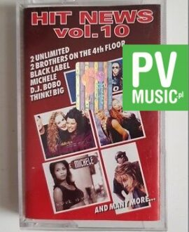 HIT NEWS vol.10 MICHELE, BLACK LABEL.. audio cassette
