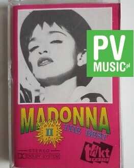 MADONNA THE BEST II audio cassette