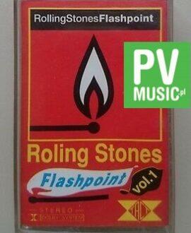 ROLLING STONES  FLASHPOINT   audio cassette