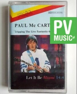 PAUL McCARTNEY TRIPPING THE LIVE FANTASTIC - HIGHLIGHTS audio cassette