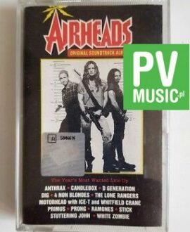 AIRHEADS ORIGINAL SOUNDTRACK ALBUM audio cassette