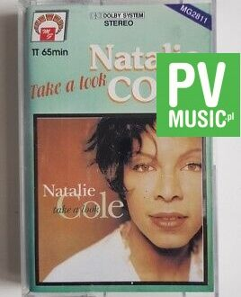NATALIE COLE TAKE A LOOK audio cassette