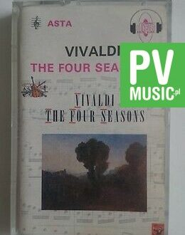 VIVALDI  THE FOUR SEASONS  audio cassette