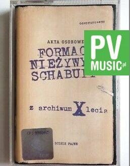 FORMACJA NIEŻYWYCH SCHABUFF Z ARCHIWUM X LECIA audio cassette
