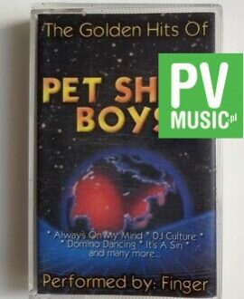 PET SHOP BOYS THE GOLDEN HITS OF PERFORMED BY:FINGER audio cassette