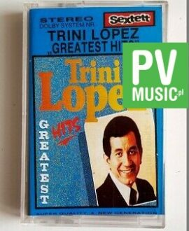 TRINI LOPEZ GREATEST HITS audio cassette
