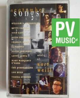 SEPTEMBER SONGS - THE MUSIC OF KURT WEILL audio cassette
