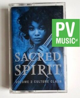 SACRED SPIRIT VOLUME 2 CULTURE CLASH audio cassette